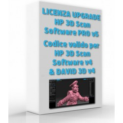 Upgrade HP 3D Scan Software PRO v5