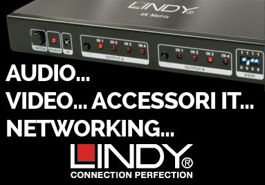 Lindy Connection Perfection - Audio - Video - Accessori informatici - Networking e molto altro...